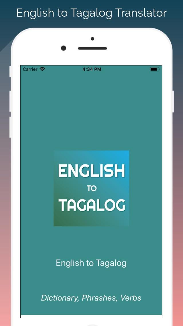 English-Tagalog Translator App for iPhone - Free Download
