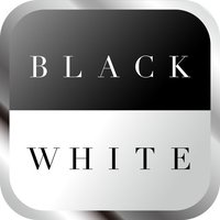 Turn the panel . Do you like black or white ?「Black or White」