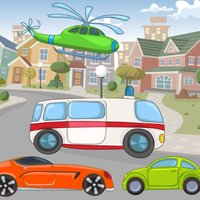 Car-s & Vehicle-s: Education-al Game-s For Kid-s: Spot Mistake-s and Learn-ing Colour-s