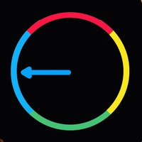 Impossible Color Wheel Crush - Match the line to the circle color