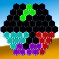 glow hexa block puzzle game