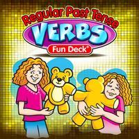 Regular Past Tense Verbs Fun Deck