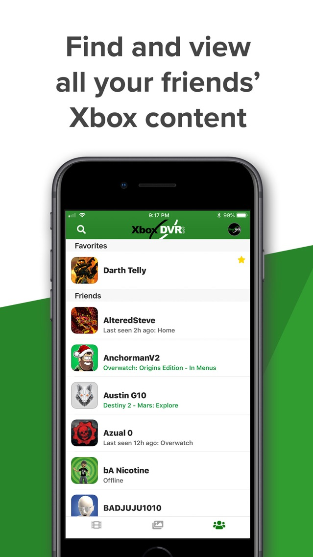 XDVR - Share clips for Xbox App for iPhone - Free Download