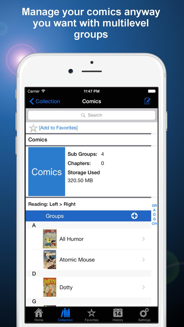Manga Storm CBR App for iPhone - Free Download Manga Storm