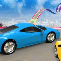 High Speed Car Stunts Driving