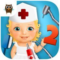 Sweet Baby Girl Kids Hospital 2 Allergy Emergency, Broken Leg and Dentist Office - Kids Game