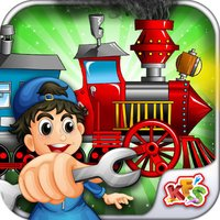 Build My Train – Make & repair vehicle in this crazy mechanic game for kids