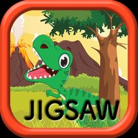 Kids Jigsaw Puzzles Games for World of Dinosaurs