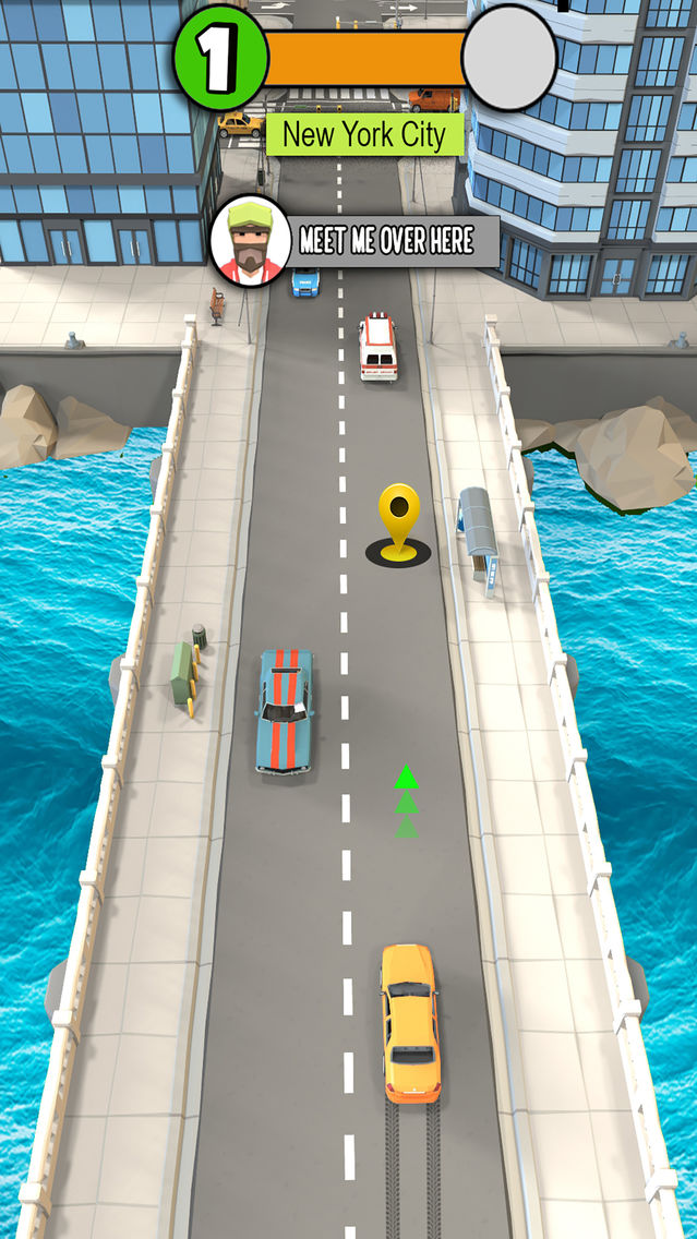 Pick me Up 3D: Traffic Rush App for iPhone - Free Download Pick me