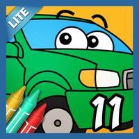 Coloring Book 11 Lite: Trucks