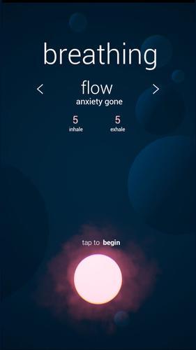Breathing Flow App for iPhone - Free Download Breathing Flow