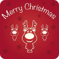 Merry Christmas Greeting Cards-Share ur Happiness