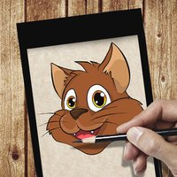 Learn To Draw Cat Face