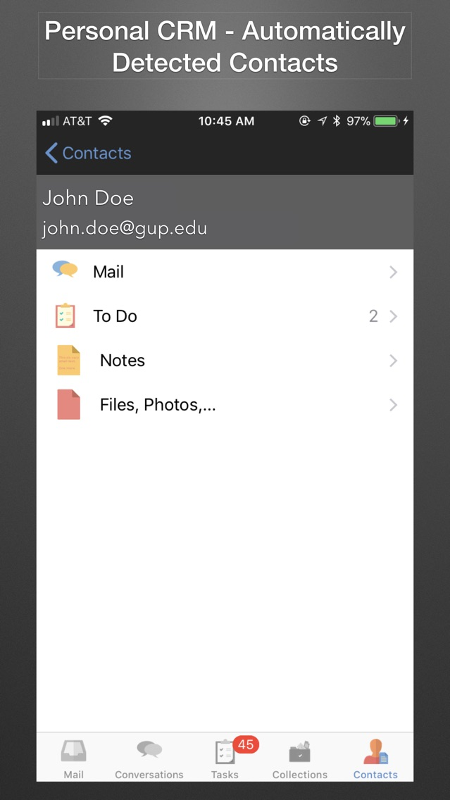 Endeavor - Gmail, Google Drive App for iPhone - Free