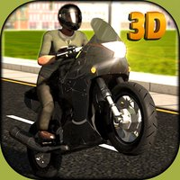 Extreme Motor Bike Ride simulator 3D – Steer the moto wheel & show some extreme stunts
