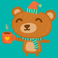 Beary Lovely Emoji and Sticker