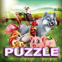 Animals In Farm Jigsaw Puzzle