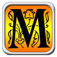 Monogram Maker - Custom DIY Photos & Wallpaper & Backgrounds with Scrapbook Stickers