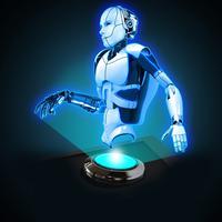 Hologram 3D Robot Simulator