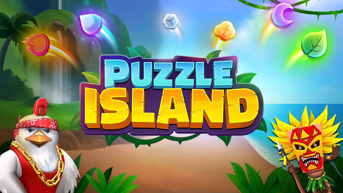 Puzzle Island: Match 3 Game App for iPhone - Free Download Puzzle