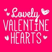 Lovely Valentine Hearts