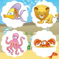 A Find-ing Mistake-s in Picture-s Game-s: Education-al Inter-active Learn-ing For Kid-s: Sea Animal-s
