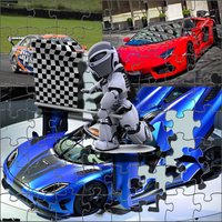 car puzzles jigsaw brain challenging and memory V1