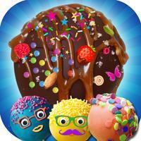 DIY Sweet Cake Pop Cooking Game - A Frozen Cake Pops Maker & Baking Chef Adventure