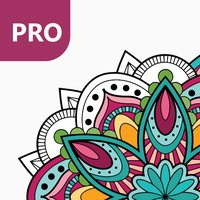 Mandala Coloring Pages for Adults PRO