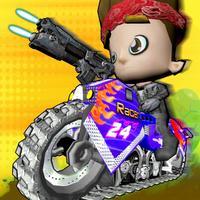 Kids Bike Shooter : Bike Racing Shooter For Kids