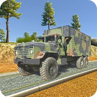 Army Truck Checkpost Drive 3D