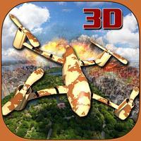 US Army Drone Strike Air Combat: Flight Simulator