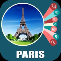 Paris France Offline TravelMap