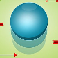 Bouncing Ball 2D - Dodge The Incoming Arrows, and Bounce The Ball To Collect Coins