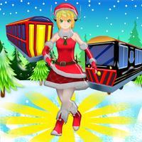 Christmas Run - Snow Princess Train Surfers