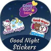 Good Night Sticker