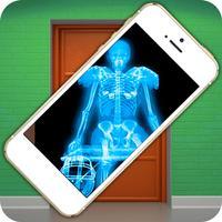 Simulator X-Ray Scanner Door