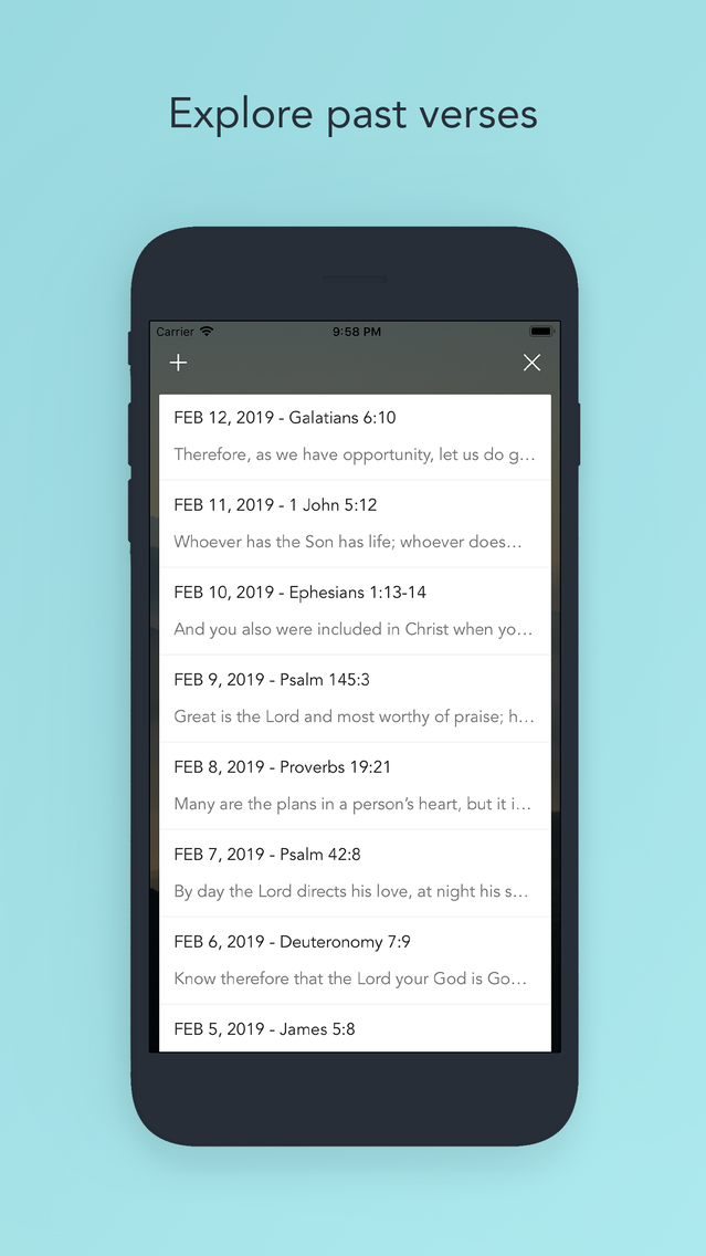Daily Bible Verse Devotionals App for iPhone - Free Download