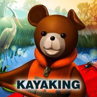 Teddy Floppy Ear - Kayaking