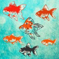 Goldfish Aquarium - Japanese Style -