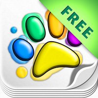 Coloring Zoo: Finger Painting FREE