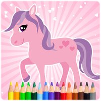 Pony Colouring and Painting Book