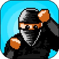Ninja Man - punch, kick, and slice up the timber