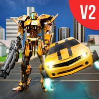 Car Robot Transformation War