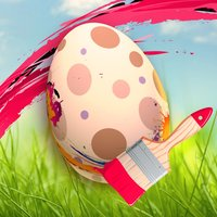 Easter Egg Hunt Colouring - Fun Game For Boys and Girls Kids Edition