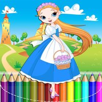 Little Princess Games Coloring Book for Girls