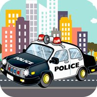 Kids Police Car - Toddler