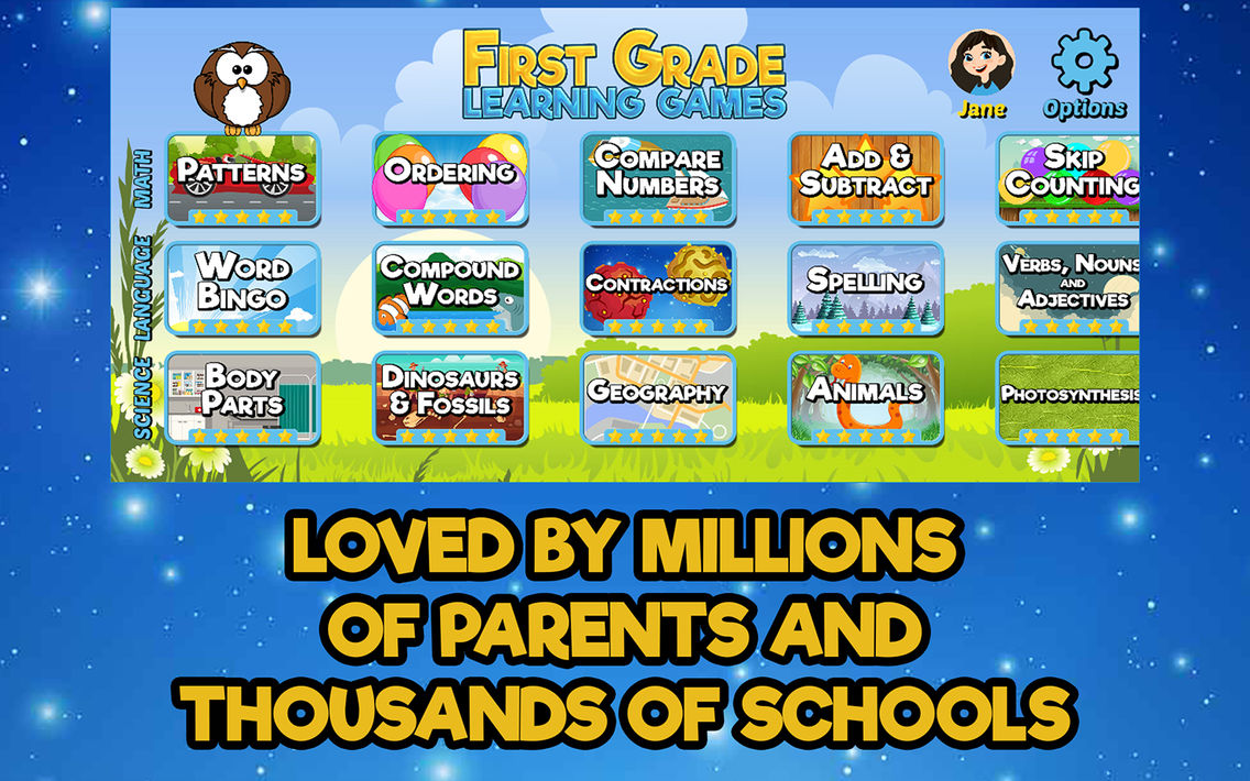 First Grade Learning Games App For Iphone Free Download First