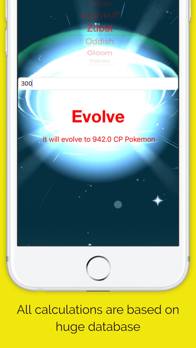 Pokemon go evolve calculator