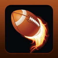 Superbowl Football Playoffs Series – American Quarterback Blitz for a Touchdown and Big Win